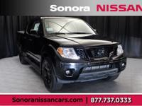 Magnetic Black Pearl 2019 Nissan Frontier SV RWD