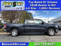 Steel Metallic 2019 Ram 1500 Tradesman 4WD 8-Speed