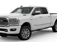 $8,484 off MSRP! Pearl White 2019 Ram 2500 Limited 4WD