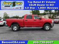 Flame Red Clearcoat 2019 Ram 2500 Tradesman 4WD 6-Speed