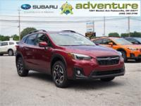 Venetian Red Pearl 2019 Subaru Crosstrek 2.0i Limited