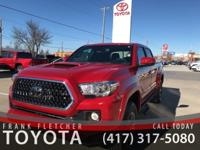 Barcelona Red 2019 Toyota Tacoma 4WD.18/22 City/Highway