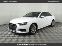 2020 Audi A4 7-Speed Automatic S tronic, Black Leather,