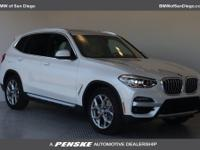Mineral White Metallic 2020 BMW X3 sDrive30i RWD