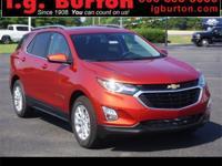 2020 Chevrolet Equinox LT 26/31 City/Highway MPG