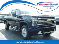 Black 2020 Chevrolet Silverado 2500HD High Country 4WD