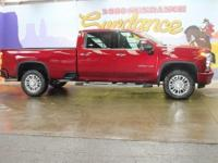 Red Tintcoat 2020 Chevrolet Silverado 3500HD High