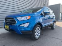 2020 Ford EcoSport SE 4WD Blue Candy 2.0L I4 Ti-VCT