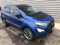 2020 Ford EcoSport SES 4WD Blue 2.0L I4 Ti-VCT GDIAsk