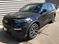 2020 Ford Explorer ST AWD Black AWD. V6Ask about our