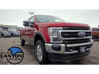 *Summary*This 2020 Ford F350 Super Duty King Ranch