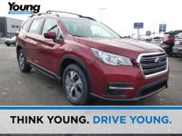 Crimson Red Pearl 2020 Subaru Ascent Premium AWD