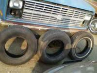 I have two new 205-75-R14 Tires they are brand new. I