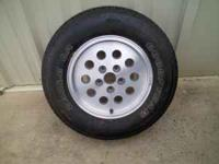 this is a brand new Good Year Eagle 225-70-15 tire