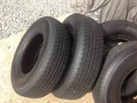 all 4 likes brand new 235/75/15 hankook  tires with