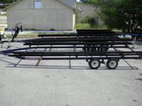 LED Lights, Tandem Axle, Fully Adjustable, License