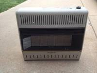 i have a brand new 25000 btu 5 brick vent free heater