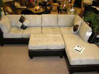 Brand New...Take it Home Today!! 3-Pc. Sectional