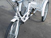 "We have a NEW 3-Wheel Parent 24"" Tricycle 6-Speed Bike"