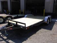 2013 PJ 18' Car hauler trailer equipment  7,000 lb.