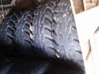 36x12.50x16.5 goodyear hummer tires Like new No plugs