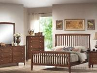 This Baby Mission Style Bedroom Collection by Lifestyle