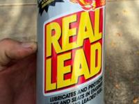 NEW, this additive adds lead to gasoline. Each quart