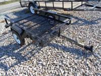 New 4 x 6 energy trailer for sale, stock number 4043