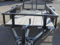 For sale is a nice, quality NEW 4x8 utility trailer by