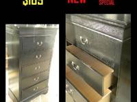 Featured Item **NEW** 5 Drawer Chest of Drawers Dresser