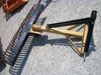 NEW 5' ROCK/LANDSCAPING RAKE....$425 CASH.... Location:
