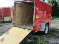 "Trailer for sale is RED Features include: ""V"" nose"