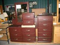 New 5 pc full/queen bedroom sets include full/queen