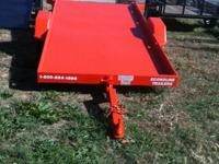 New 5x12' SideKick Tilt Trailer with MSO