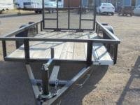Nice, quality NEW 5x8 utility trailer by Cross. Single