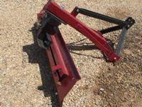 New 6' Grader Blade has 3pt hook-up with 6 way blade,