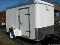 Cool & Clean White trailer with the following