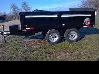 I have a new 2012 homesteader 6x10 Dump Trailer. 7000