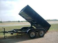 Black, w/3,500lb axles, 1 brake axle, bulldog hitch,