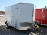 New 2013 Continental Cargo 6x10 V-nose enclosed