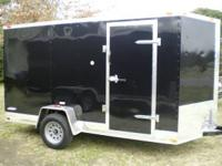 Brand new 2012 6x12 enclosed trailer. Trailer is