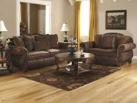 7 piece group includes: Sofa,loveseat,2 end tables,2