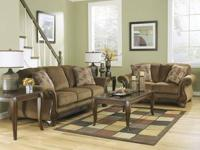 AS SHOWN-7 piece living room group includes