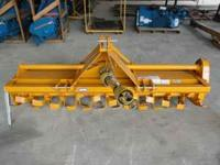 New King Kutter 7' Rotory Tiller. Has pto shaft with