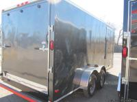 2013 NEW 7' x 16' Tandem Axle Enclosed Cargo Trailer -