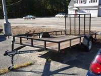 Up for sale is a BRAND NEW 7x12 Utility Trailer. It has