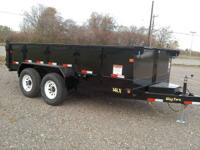 New Big Tex 14LX 14,000 lb GVW Combo Gate Slide out