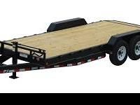I HAVE A BRAND NEW 2012 PJ CAR HAULER TRAILER FOR SALE.