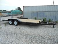 New 8.5 x 18 trailer for sale, stock number 221 with