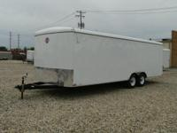 New 8.5 x 24 Enclosed Car Hauler for sale, stock number